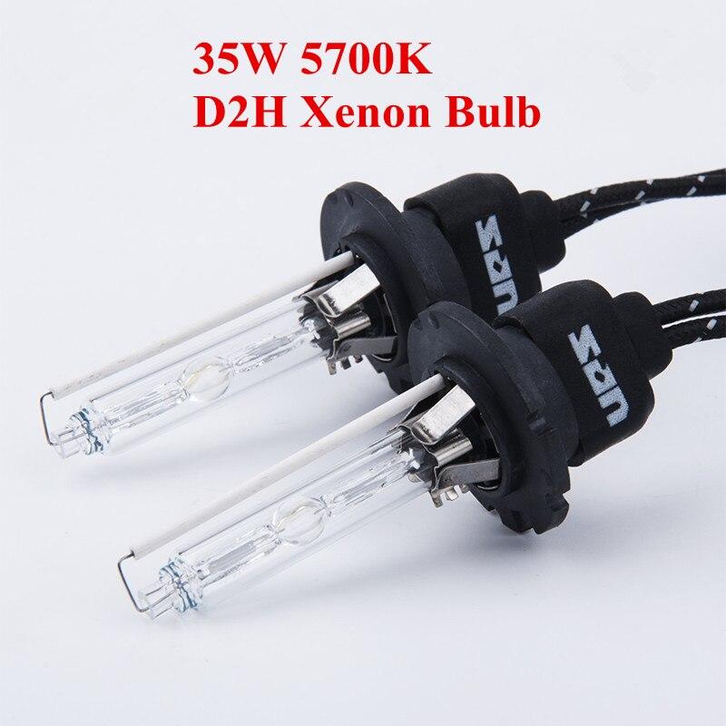 2pcs/Lot,35W D2H Xenon Bulb Fast Start 5700K Hid Lamp Top Quality