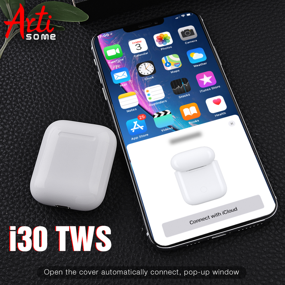 Back To Search Resultsconsumer Electronics Latest Collection Of 2019 New Original I30 Tws Touch Bluetooth Earphones Pk W1 Chip 1 1 Size Earphones Pk I10 I20 I21 I40 I50 I60 Tws