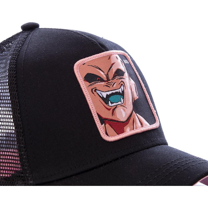 capslab-kid-buu-buu-dragon-ball-black-trucker-hat (2)