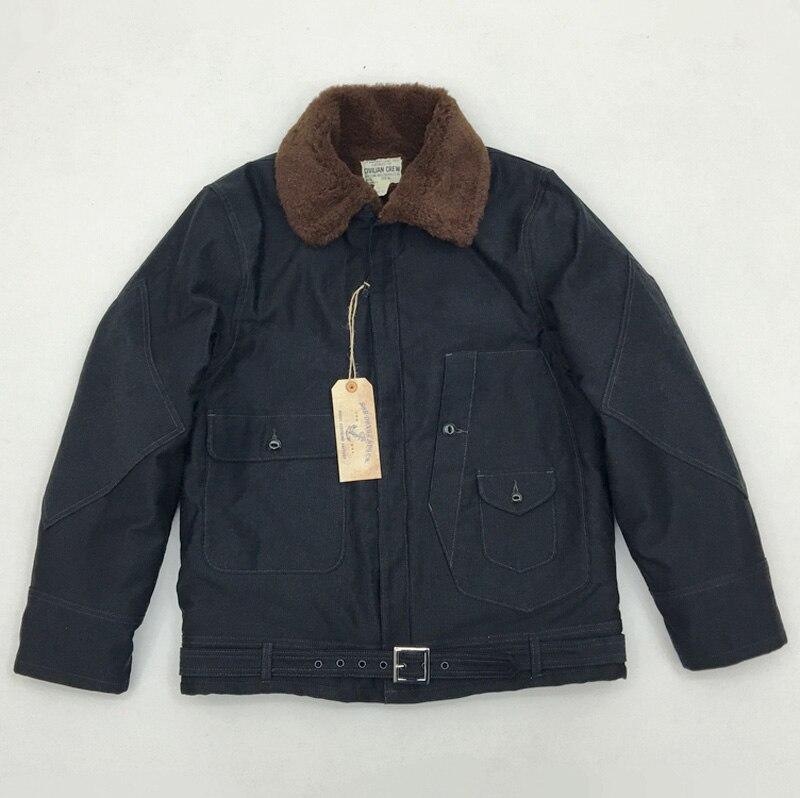 2018 мужская куртка бомбер в стиле милитари США, зимнее шерстяное пальто, Реплика, шерстяное пальто Авиатор, армейский зеленый, темно синий