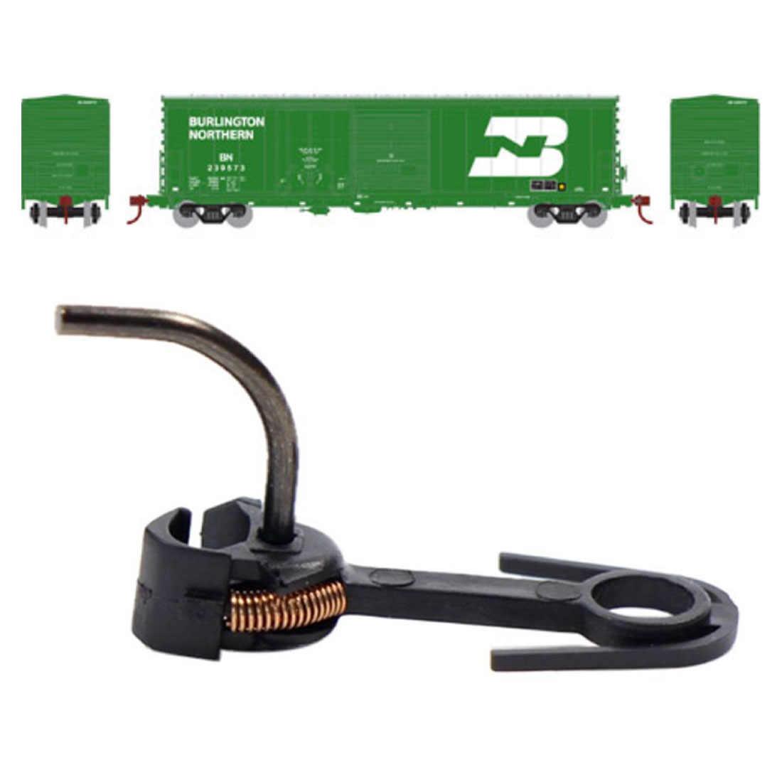 2/6/12 sztuk 20mm E-Z Mate magnetyczne Knuckle łączniki HO skala łączniki dla HO 1: 87 skala Model pociągi i dla Bachmann pociąg