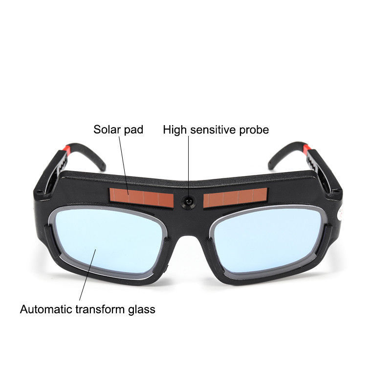 Details about  /Solar Powered Auto Darkening Welding Mask Helmet Eyes Goggle Welder Glasses~