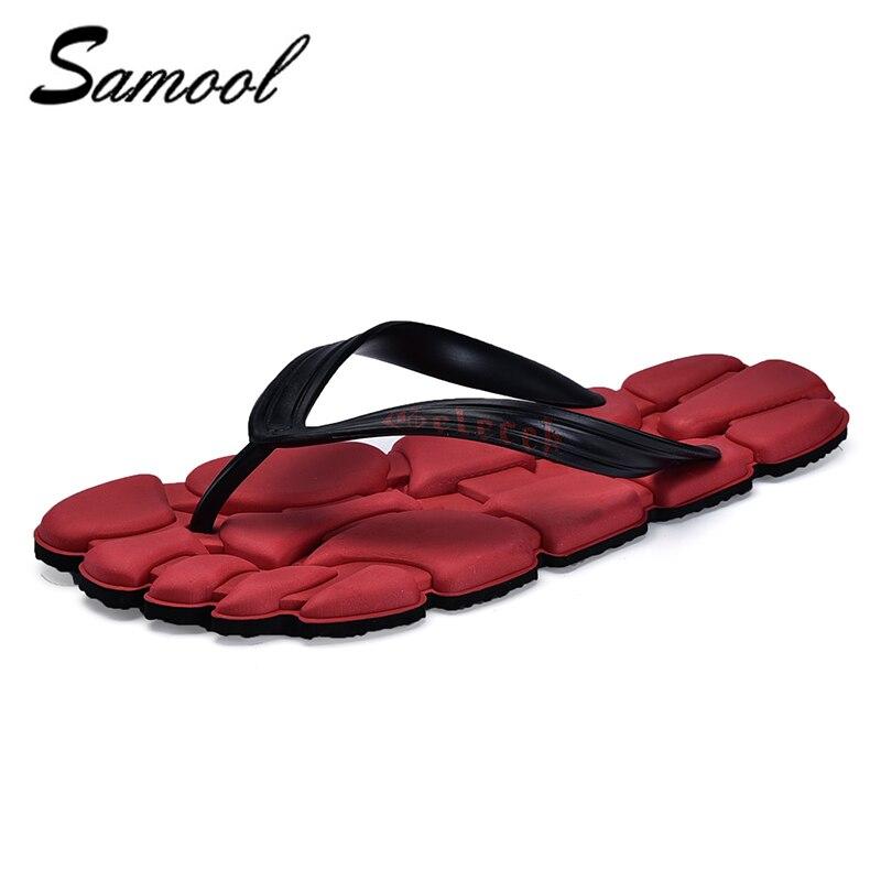 summer Men Shoes Bath Flip Flops Anti Slip Flat Flip Llops Beach Slippers For Men Sandals Casual spring Slippers Shoes Men J4