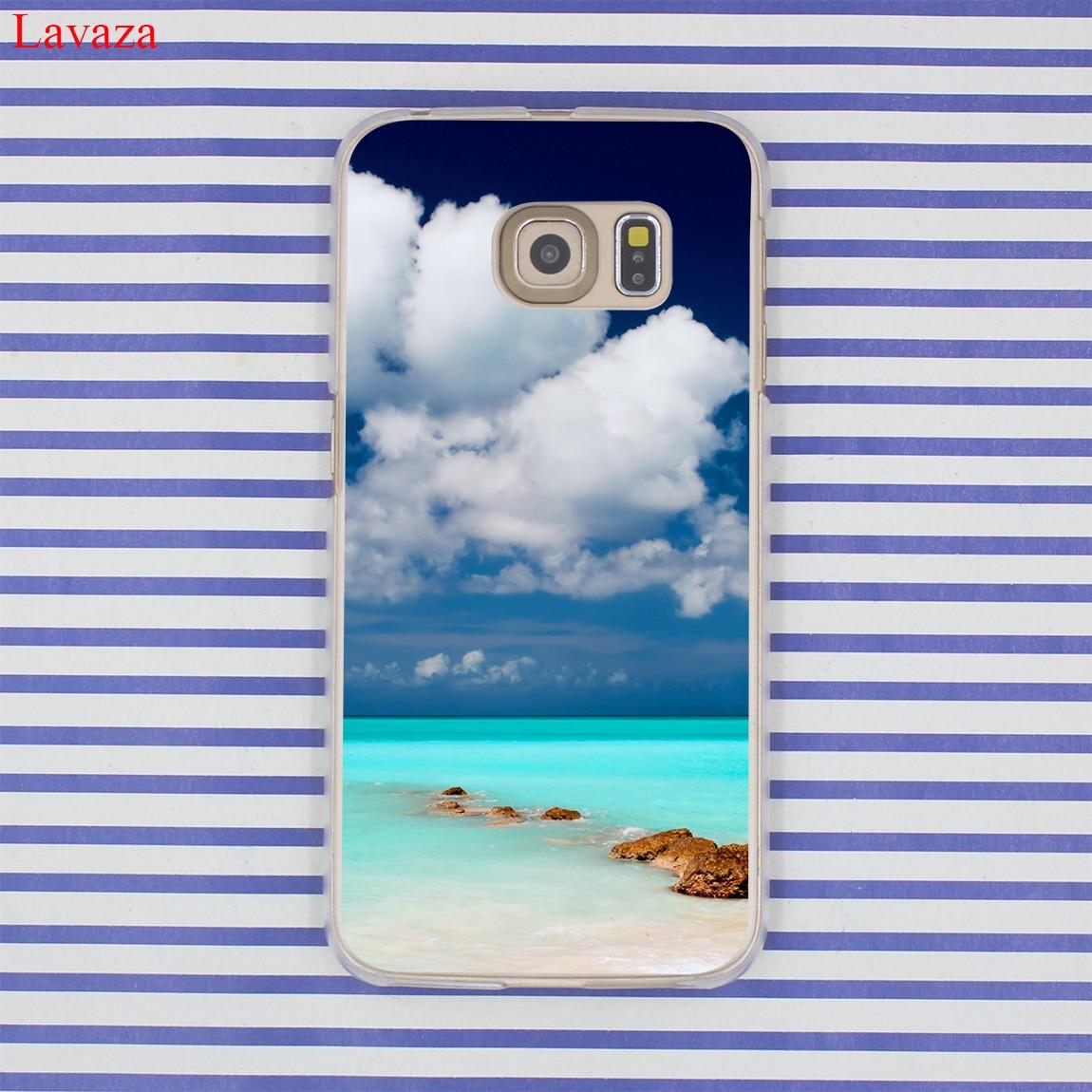 Funda de teléfono Lavaza Clear Sea Sky Sandy beach para Samsung - Accesorios y repuestos para celulares - foto 2