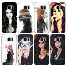 H083 Fifth Harmony Lauren Jauregui Transparent Hard PC Case Cover For Samsung Galaxy S Note 3 4 5 6 7 8 9 Edge Plus