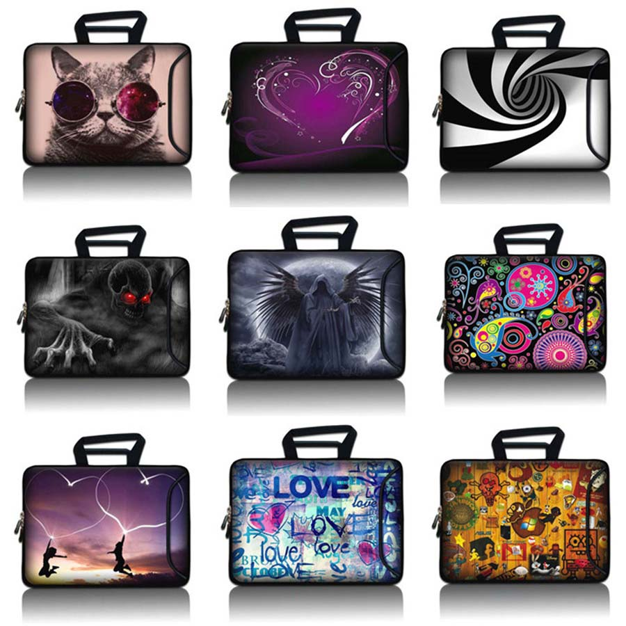 10 11 12 13 14 15 17 Handbag Laptop Tablet Bag Notebook Sleeve 10.1 12.1 13.3 14.1 15.6 17.3 Computer Protective Case  SBP-hot18