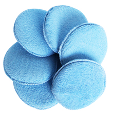 Soft Microfiber Car Wax Applicator Pad Polishing Sponge for apply and remove wax Auto Care 3pcs or 6pcs for choice