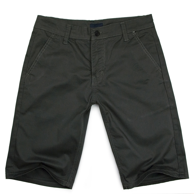 Men'S Casual Shorts Knee Length Cargo Short Pants 2016 New Clothing Fashion Summer Style Design Bermuda Man'S Short Trousers