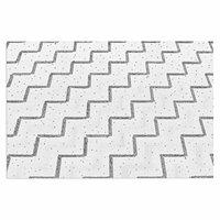 KESS InHouse Frederic Levy-Hadida Fancy Strepen Pastel Decoratieve Deur Mat, 2' x 3' Floor
