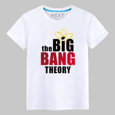 The BIG BANG THEORY Formula GEEK T Shirts Cooper Hot sitcoms Hip Hop short sleeve O Neck t-shirt ...