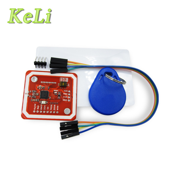 1Set PN532 NFC RFID Wireless Module V3 User Kits Reader Writer Mode IC S50 Card PCB Attenna I2C IIC SPI password management short range nfc module rfid 13 56mhz tag reader
