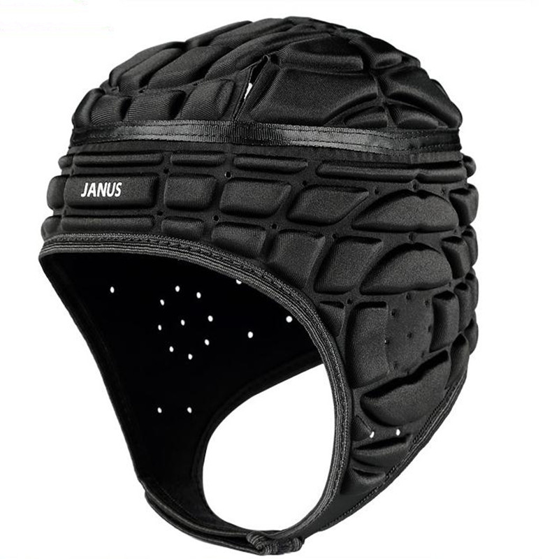 New Goalkeeper Helmet Adjustable Tense Lax Football Helmets Soccer Goal keeper Goalie Sports Safety Protector Head Protect Tools ...