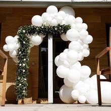 FENGRISE Giant White Round Balloons Wedding Macaron Tassel Ballon Helium Balons party Baloon Birthday Baloes Pastel