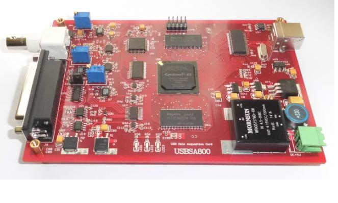 High speed USB data acquisition card -USBSA800-10MHz-AD sampling rate