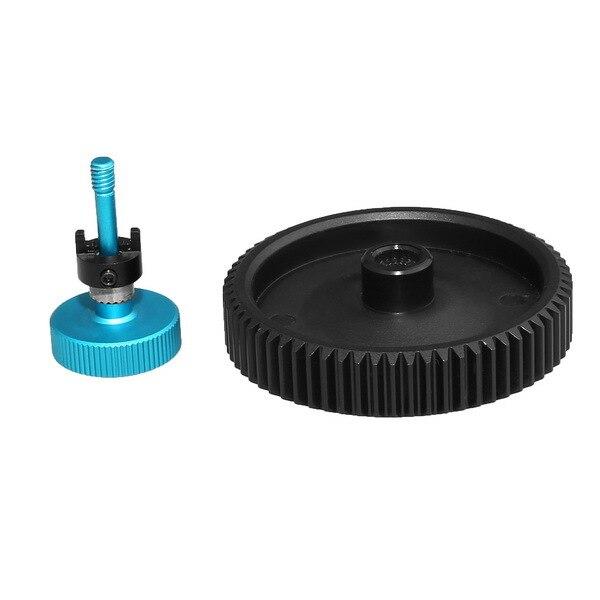 Fotga big black standard lens 65T 0.8mm pitch gear for DP500 II IIS follow focus free shipping