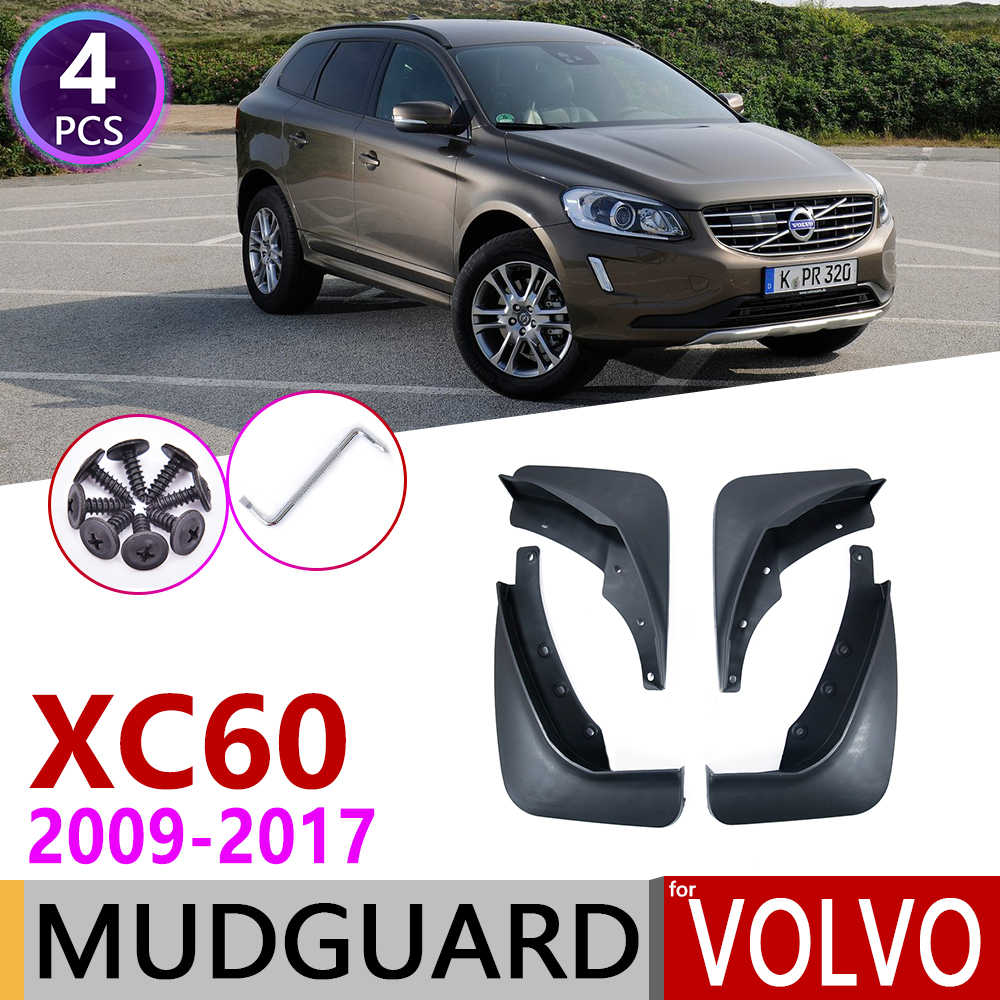Car Mudflap for <font><b>Volvo</b></font> <font><b>XC60</b></font> 2009~2017 Fender Mud Guard Flap Splash Flaps Mudguards <font><b>Accessories</b></font> 2010 2011 <font><b>2012</b></font> 2013 2014 2015 2016 image