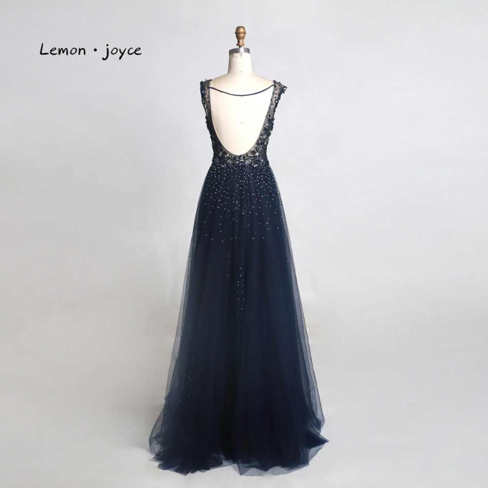 Женское вечернее платье Lemon joyce, вечернее платье длиной до пола с треугольным вырезом и открытой спиной, 2020