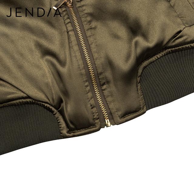Jade USA Army Women Bomber Jacket