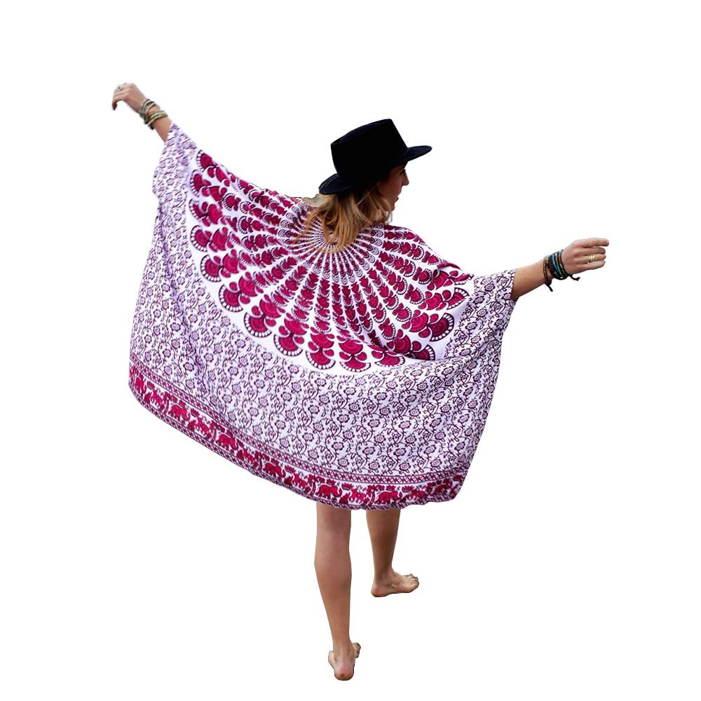 Femmes Imprimé En Mousseline de Soie Bouton Kimono Cardigan Vêtements De Plage Manteau Tops Blouse Cover Up Blusas Femininas
