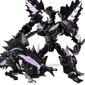 Image 4 - weijiang Oversize 21 27CM Anime Transformation Dinosaur Kids Toys Dragon Robot  Alloy Action Figures Brinquedos Classic Toys Boy