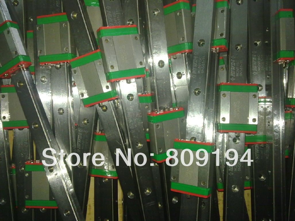600mm HIWIN MGR12 linear guide rail from taiwan 2500mm hiwin mgr12 linear guide rail from taiwan