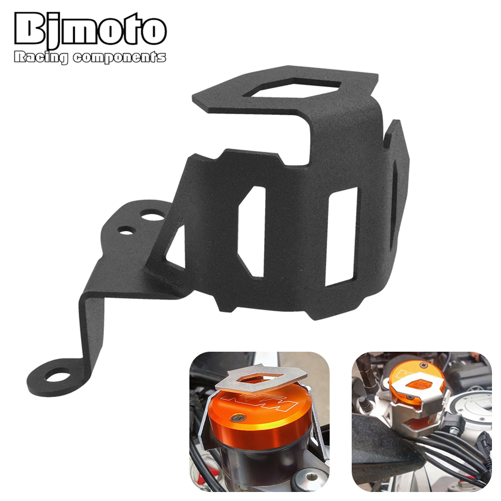 Bjmoto New 2018 Motorcycle Protection cover Brake Fluid Reservoir Oil Cap Guard For KTM ADV 1050 1190 1290 Adventure 2013-2018Bjmoto New 2018 Motorcycle Protection cover Brake Fluid Reservoir Oil Cap Guard For KTM ADV 1050 1190 1290 Adventure 2013-2018