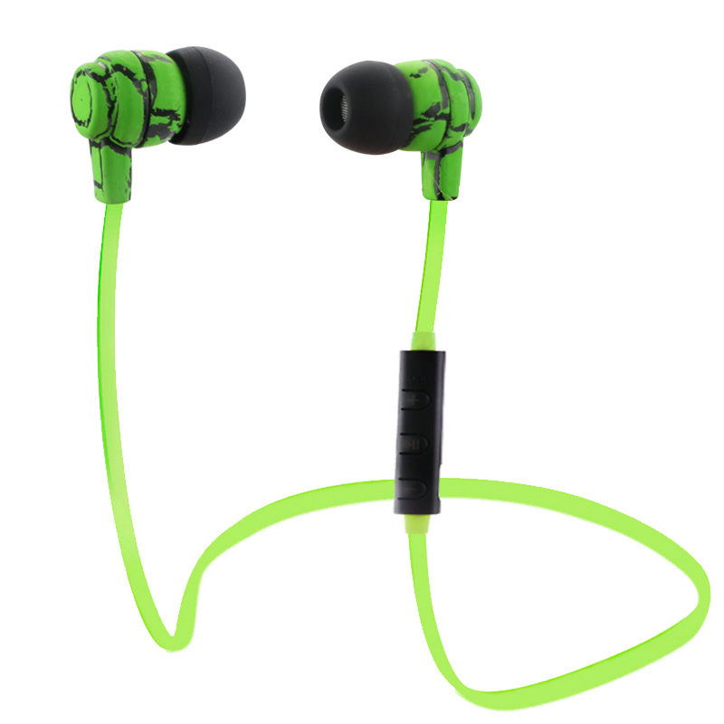 Sports Headset with Microphone Wireless Stereo Earphone Bluetooth V4.0 Headphone Earbuds Handsfree For Samsung iPhone7 Sony PC high quality 2016 universal wireless bluetooth headset handsfree earphone for iphone samsung jun22