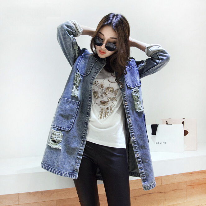 Online Get Cheap Ladies Denim Jacket Xxxl -Aliexpress.com ...