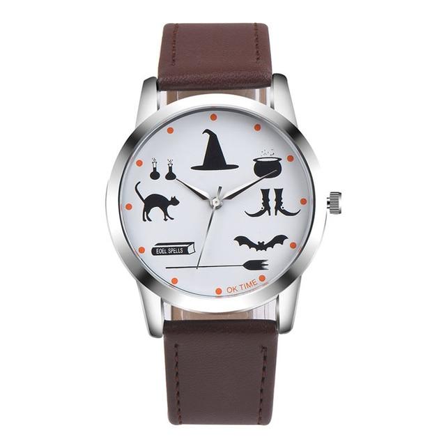 Fashion Cartoon Watches Magic World Children's Lovely Leather Strap Quartz Wrist