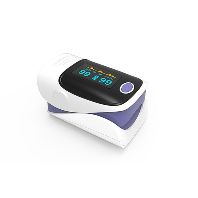 a Oximetria de Pulso de Dedo Oled Display Oxímetro Pediatrico Saturometro