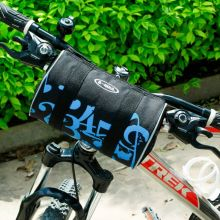 Outdoor Bicycle Accessories Front Handlebar Bags font b Cycling b font Front Basket Frame Tube Bag