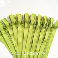 50pcs ( 12 Inch ) 30CM Green Nylon Coil Zippers Tailor Sewer Craft Crafter's &FGDQRS #3 Closed End