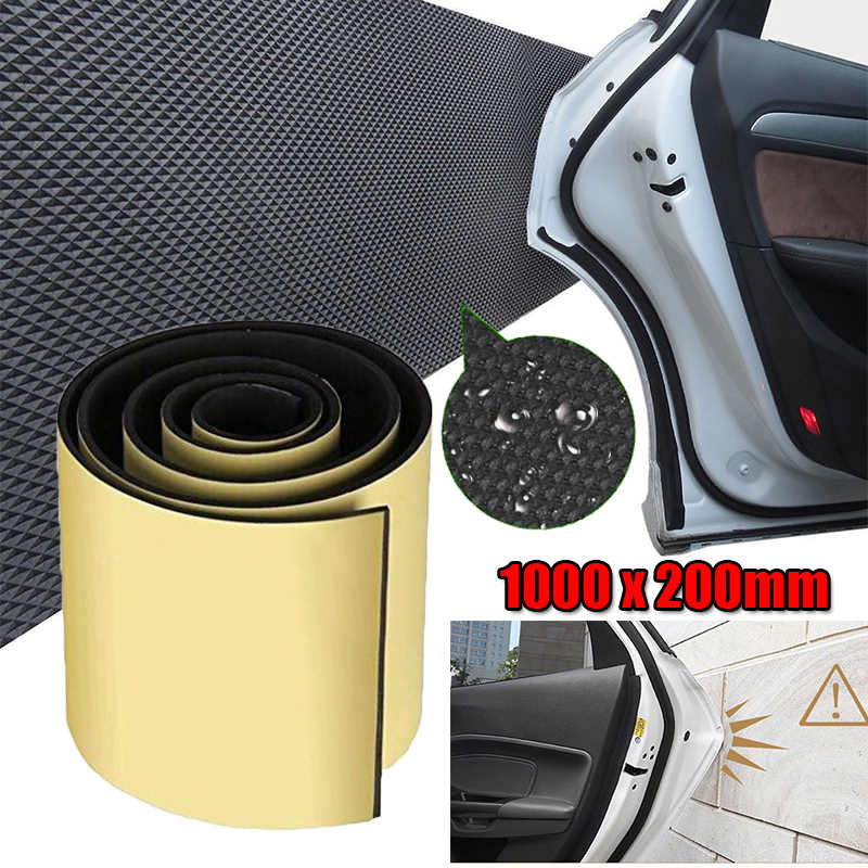 Replacement Car Wall Door Protector Guard Bumper Safety 100x20cm 1Pc Strips Garage Accessories