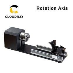 Cloudray роторное гравировальное крепление с патронами, шаговые двигатели для лазерной гравировки, режущий станок, Модель B