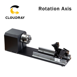 Cloudray Dreh Gravur Befestigung mit Chucks Stepper Motoren für Laser Gravur Schneiden Maschine Modell B