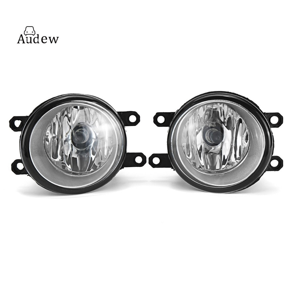 Pair 55W H11 Car Light Fog Light Lamp Left+Right Replacement Fog Lamp Set For Toyota/Camry/Corolla/Yaris/RAV4 for Lexus fog lights lamp for toyota yaris senda 2006 belta vios 2007 clear lens pair set wiring kit fog light set
