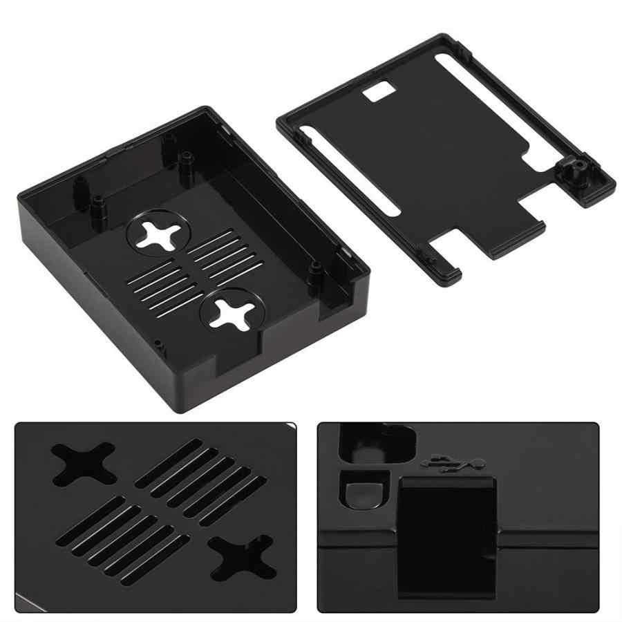 UN2 قذيفة مربع ABS البلاستيك الضميمة حالة وقائية ل اردوينو UNO R3 مجلس متوافق USB قصيرة الحماية الحالية DIY كيت جديد
