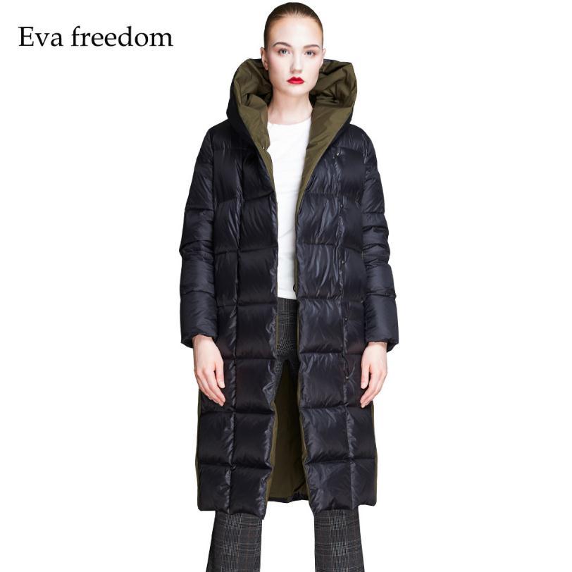 6a025c9c2 2019 new fashion brand 90% duck down thicker warm parkas coat female winter  plus size hit color ...