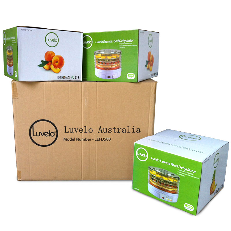 245W LUVELO Express Food Dehydrator Fruit Vegetable Herb Meat Drying Machine Snacks Food Dryer with 5 trays nigella express good food fast
