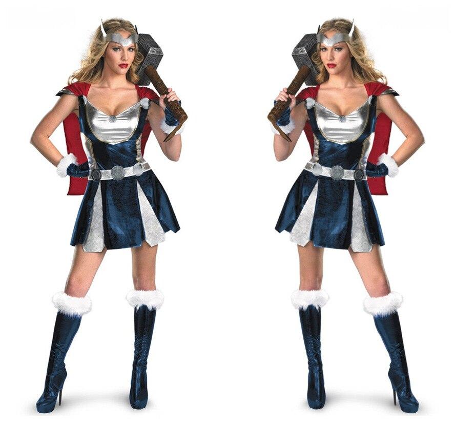 disfraz mujer thor