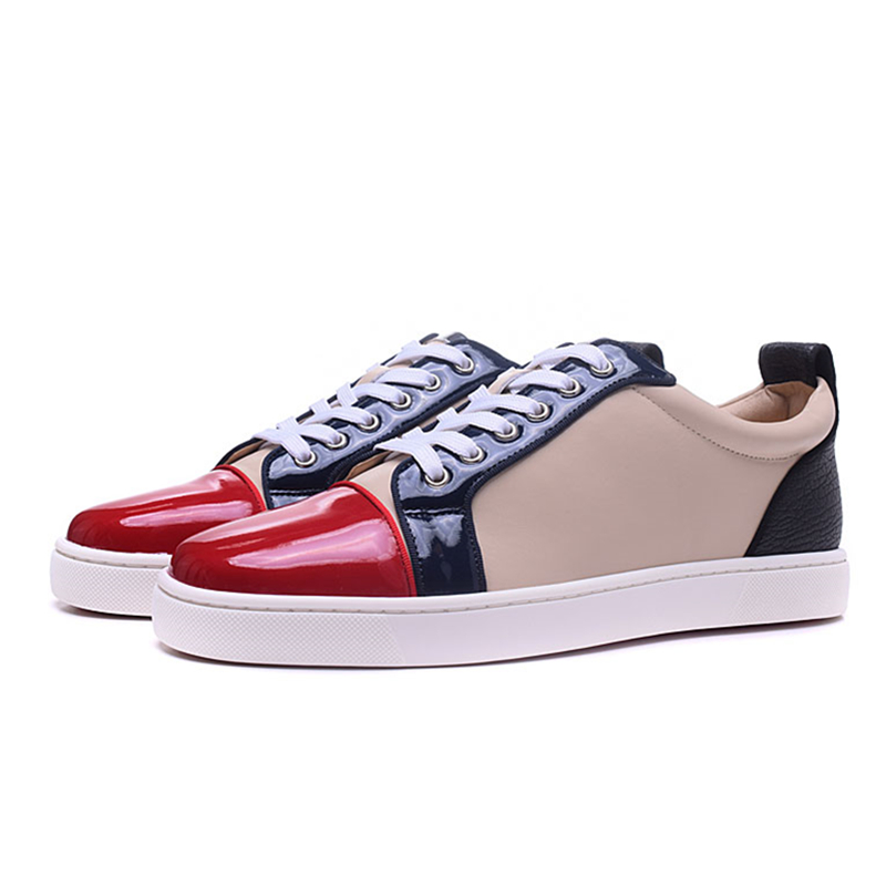 2018 Mixed Color Mens Loafers Genuine Leather Round Toe Lace Up Flats Casual Shoes Low Top Trainers Sneakers Driving Shoes Men hanbaidi luxury handmade string beads mens sneakers runway genuine leather white low top mens casual shoes round toe flats men