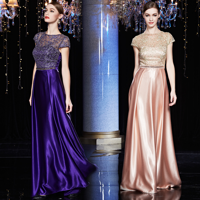 Aliexpress.com  Buy 2015 Banquet Long Design Evening Dress Slim Plus Size Clothing Dinner Party ...
