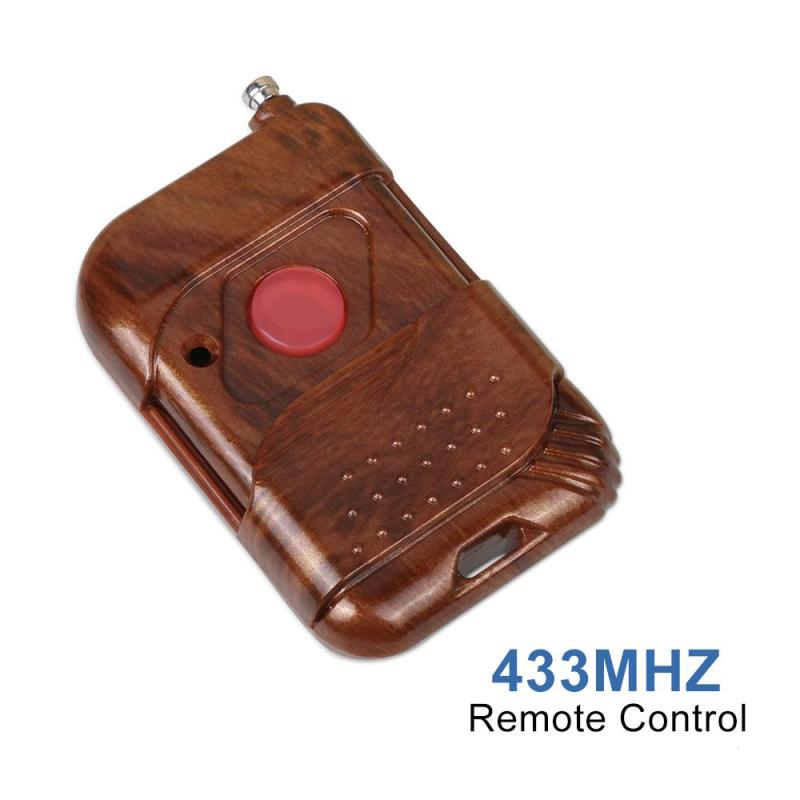 LEMAIC DC 12V 433mhz Smart Home Remote Control Switch Transmitter Push Button Switch RF Relay Receiver 433 Mhz Remote Controls