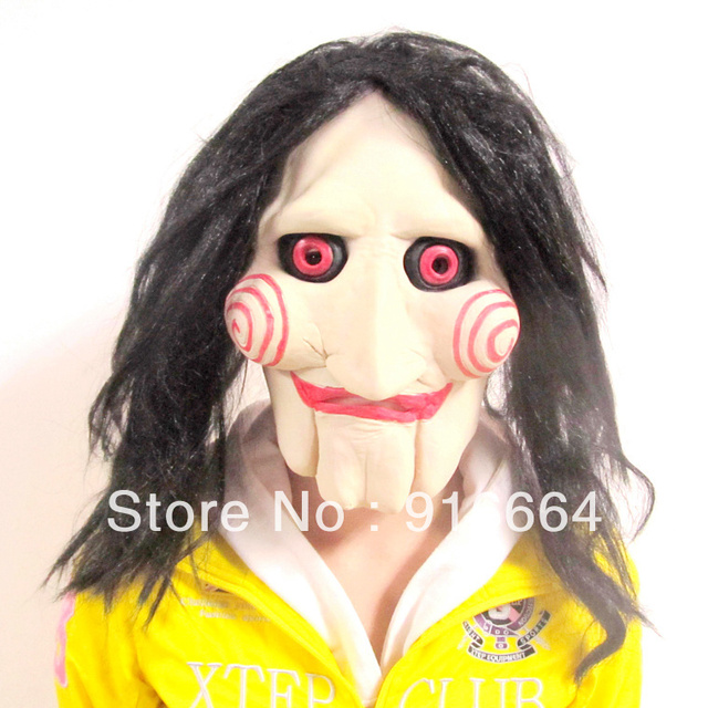 Jigsaw Mask for Halloween Halloween Party Mask Horror Mask