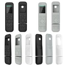 Soft Silicone Protective Case Cover Skin Replacement for Logitech Harmony Elite Remote Control