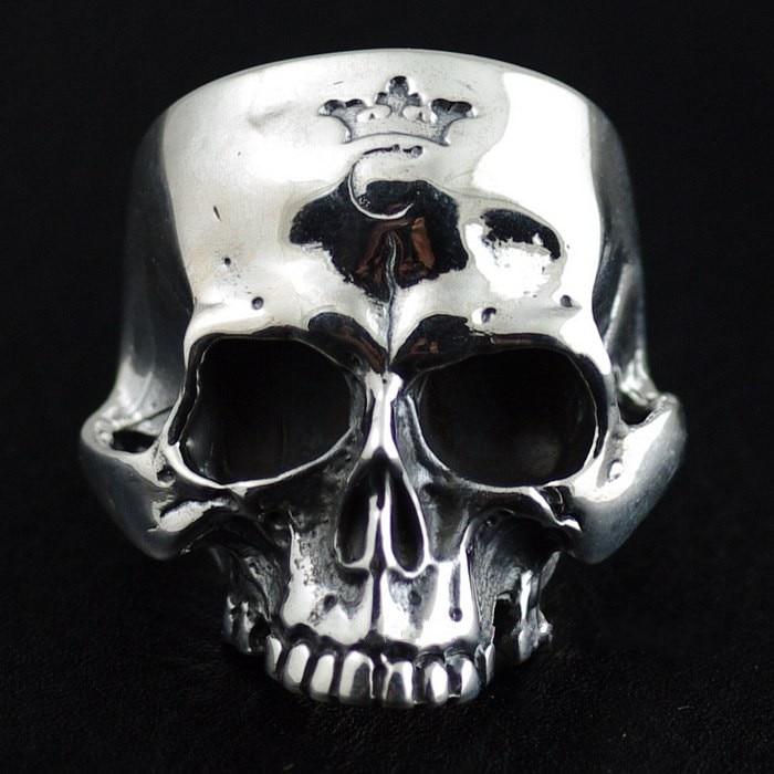 925 pure silver gabor skull ring балетки gabor