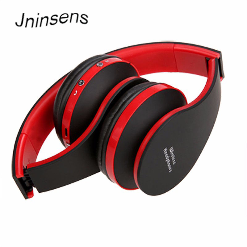 Wireles/Wired Bluetooth Headset Headphone Earphone Bluetooth Head Stereo Foldable with M ...