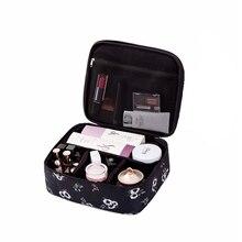 Cosmetics organizer travel fashion ladies cosmetics cosmetic bag beautician storage bag large capacity lady mini cosmetic bag
