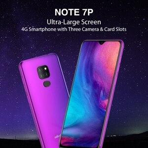 """Image 5 - Ulefone Nota 7P Del Telefono Mobile Android 9.0 Cellulare 6.1 """"MT6761VW Quad Core 3GB + 32GB Viso ID 3500mAh Smartphone 3 Posteriore Telecamere"""