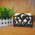 Novo suporte de papel tissue guardanapo titular tecido caixa de Tecido de ferro forjado rack de fontes do partido casamento frete grátis